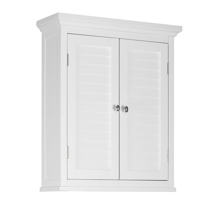 "Will go above toilet :) Elegant Home Fashions Slone 20"" x 24"" Wall Mounted Medicine Cabinet"