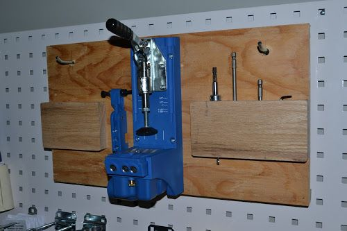 Eric Lindner Woodworks: Kreg Jig K4 Custom Homemade Board