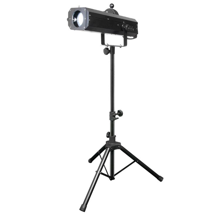 Chauvet DJ LED Followspot 75ST 75W DMX LED Spot Light Tripod
