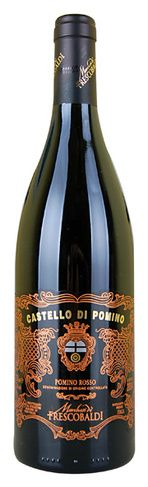 In stock - 20,45€ 2004 Frescobaldi Castello di Pomino Rosso, red dry , Italy - 87pt Beautiful magenta colour of the wine with ligh red rim. In its fuller aroma are dominant concentrated tracks of black sour cherries and dark forest fruit, seconded by dazing spiciness and hint of dried herbs. In its taste is nicely balanced with tannins and delicate acids and long barrique aftertaste.