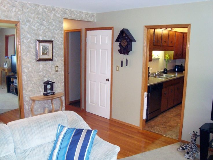 Oak Trim White Doors With Home Improvement In 2019