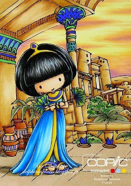Delphine's place: Walk like an Egyptian :)...