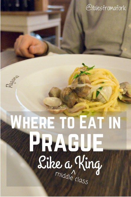 Where to eat in Prague for vegans, meat lovers, pho-natics, and pasta addicts. There's something for everyone.