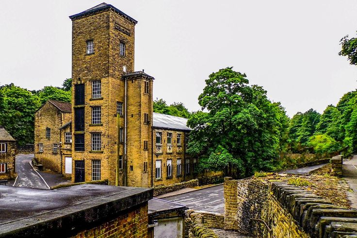 Taken whilst walking the Hebble Trail, a walk that runs from below Halifax Railway Station to Salterhebble Locks follow a route similar to the closed and infilled Halifax Branch of the Calder & Hebble Canal. Phoebe Lane Mills (Also Known as Boys Mill) is an industrial complex in the Siddal suburb of Halifax, West Yorkshire with a rather strikin tower design. View my blog at, www.colingreenphotography.blogspot.co.uk Picture Copyright © 2017 Colin Green All Rights Reserved