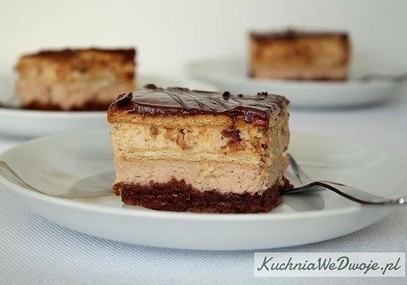 Ciasto Kinder Bueno bezpieczenia