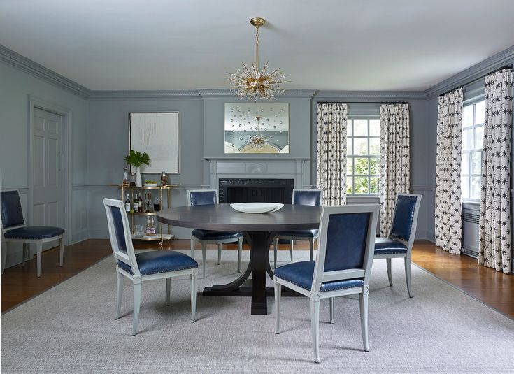 A 1920s Colonial Revival in New Jersey Gets a Modern Makeover260 best dinning areas images on Pinterest   Dining room  . Dining Room Chairs In New Jersey. Home Design Ideas