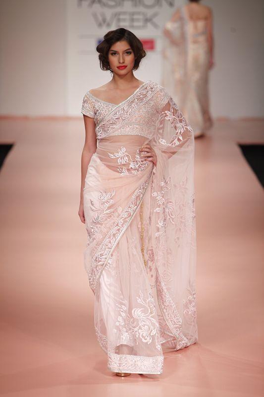 Gorgeous #Saree by Bhairavi Jaikishan http://bhairavijaikishan.com/