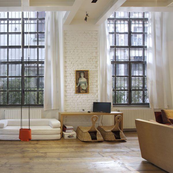 Une ancienne savonnerie transformée en beaux lofts à Milan