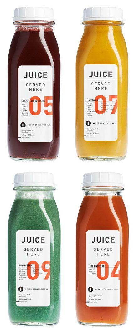 Nice typography on juice Förpackad -Blogg om Förpackningsdesign, Förpackningar, Grafisk Design - CAP&Design