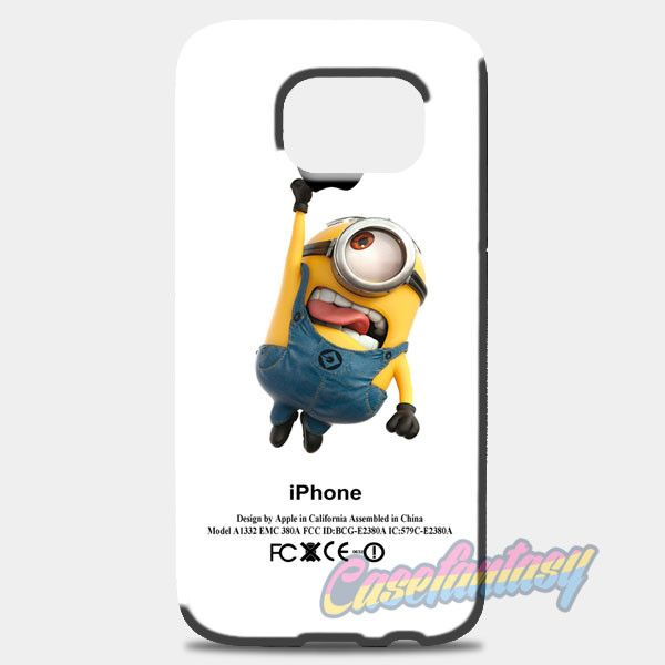 Despicable Me Minion Avenger Samsung Galaxy S8 Plus Case | casefantasy