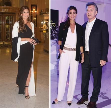 Juliana Awada y dos looks en blanco y negro - ¡HOLA!