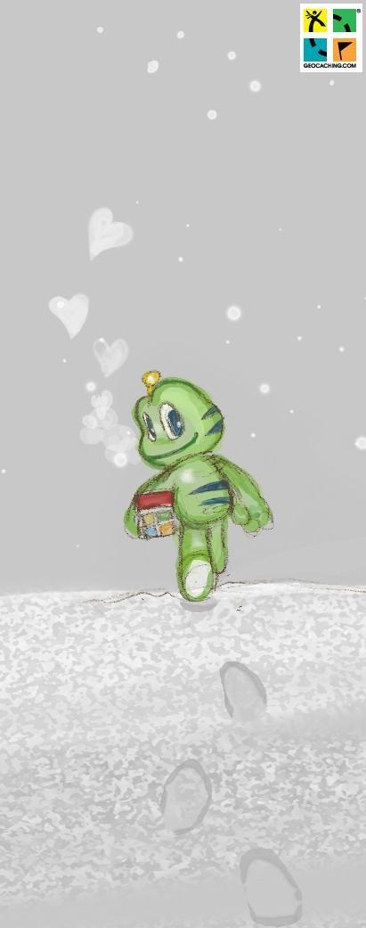 Signal Valentine #Geocaching #Love