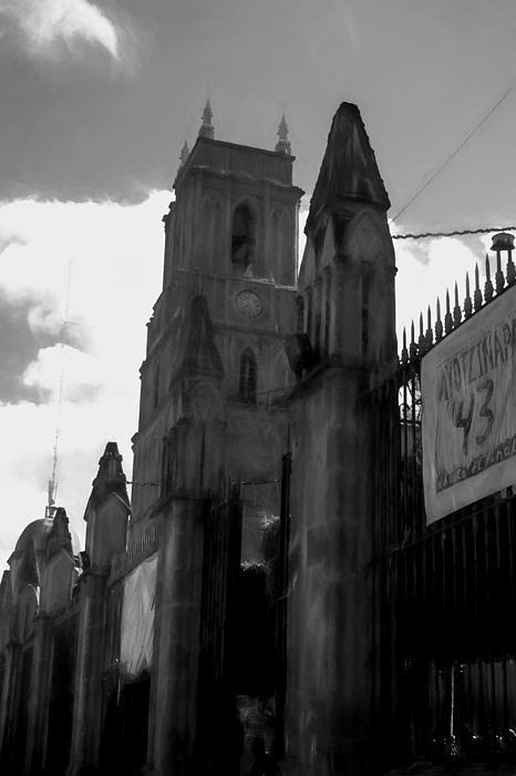 La Parroquia  Of St. Micheal The Archangel San Miguel De Allende by Cathy Anderson - La Parroquia  Of St. Micheal The Archangel San Miguel De Allende Digital Art - La Parroquia  Of St. Micheal The Archangel San Miguel De Allende Fine Art Prints and Posters for Sale