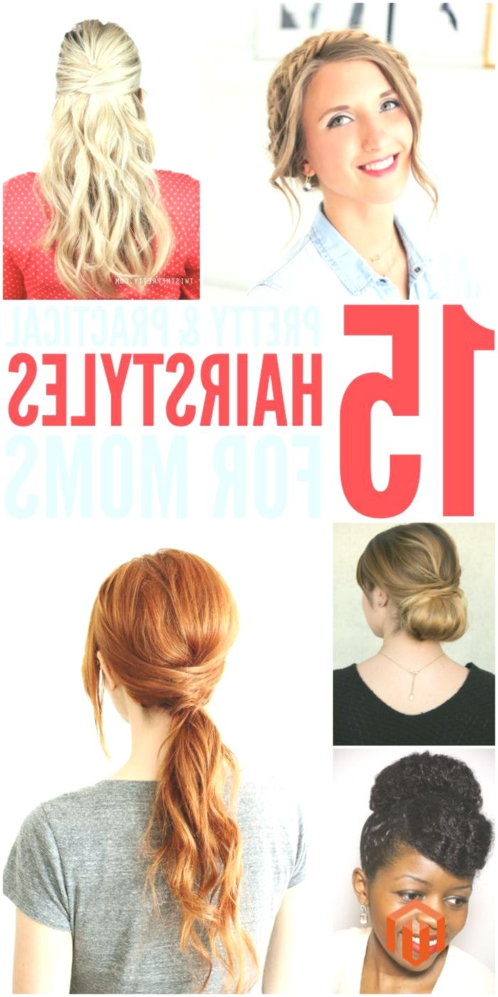 15 coiffures rapides et faciles pour les mamans qui n'ont pas