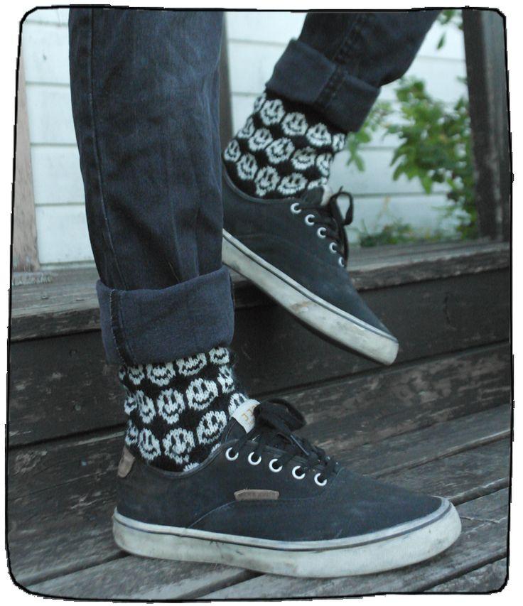 Emoji, hymiö-sukat nuorille