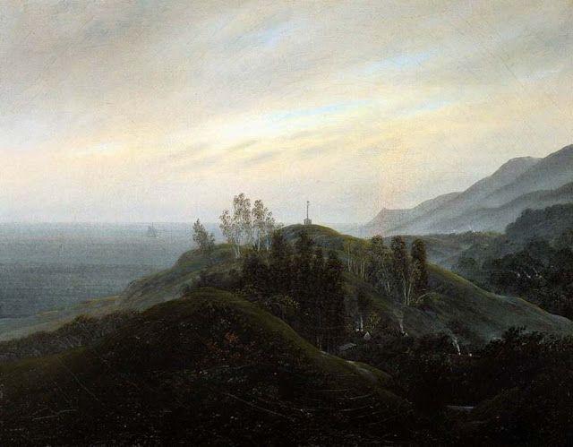 Landschaftsmalerei romantik friedrich  164 besten Caspar David Friedrich Bilder auf Pinterest | Painting ...