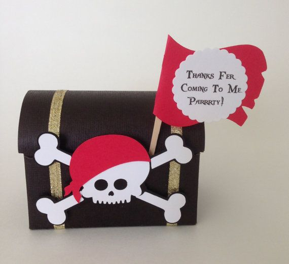 Pirate Party Decorations,  Pirate party favor, Pirate cupcake toppers and wrappers,Pirate banner, Pirate centerpiece