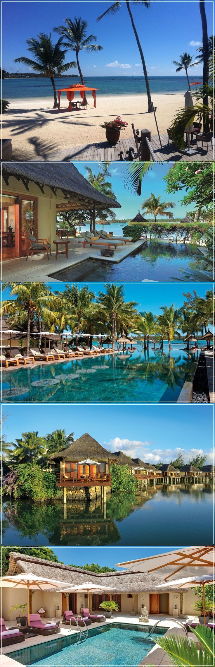 Constance Le Prince Maurice is nominated as one of the best luxury resort for… - empfohlen von First Class and More