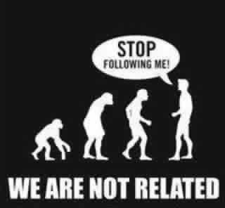 THANK YOU WHOEVER MADE THIS! WE ARE NOT RELATED TO MONKEYS! WE ARE MADE IN GOD'S IMAGE NOT MONKEY IMAGE