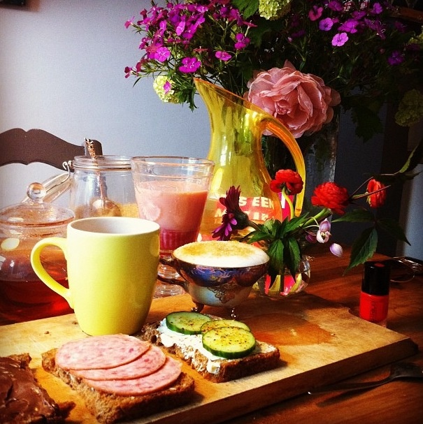 You have to be nice for yourself so treat yourself with lovely breakfast
