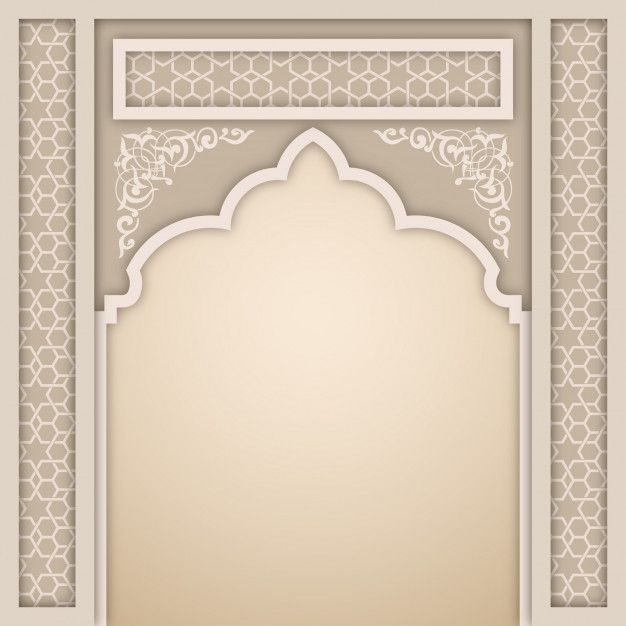 Islamic Arch Design Template Islamic Motifs Islamic Design Design