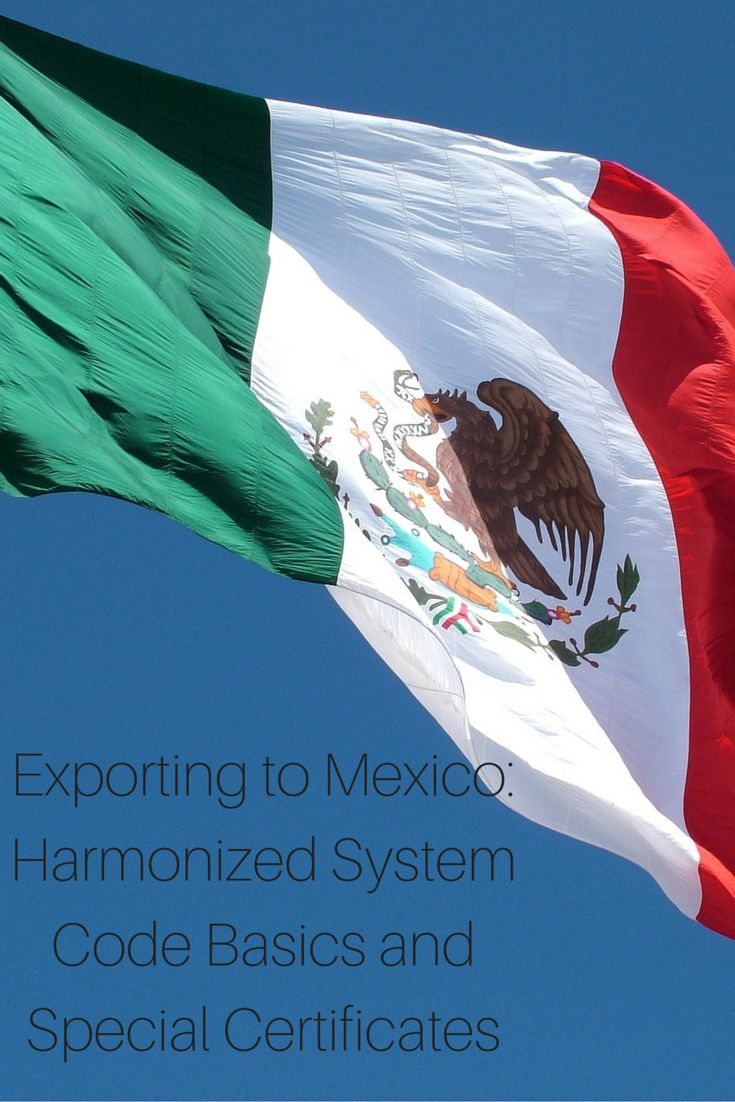 The Harmonized System is used by more than 200 countries and economies as a basis for their #customs #tariffs and for the collection of international trade statistics. This course will examine the origin of the Harmonized System code, the general rules applicable and the Harmonized System coding at an international level and at a national level. http://onlinecompliancepanel.com/webinar/Exporting-to-Mexico-Webinar-Series-4-Harmonized-System-Code-Basics-and-Special-Certificates-501163