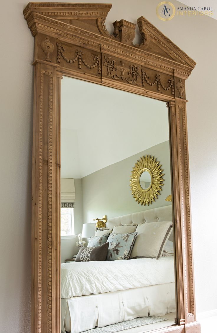 8 foot mirror restorationhardware mirrors verre for 7 foot mirror