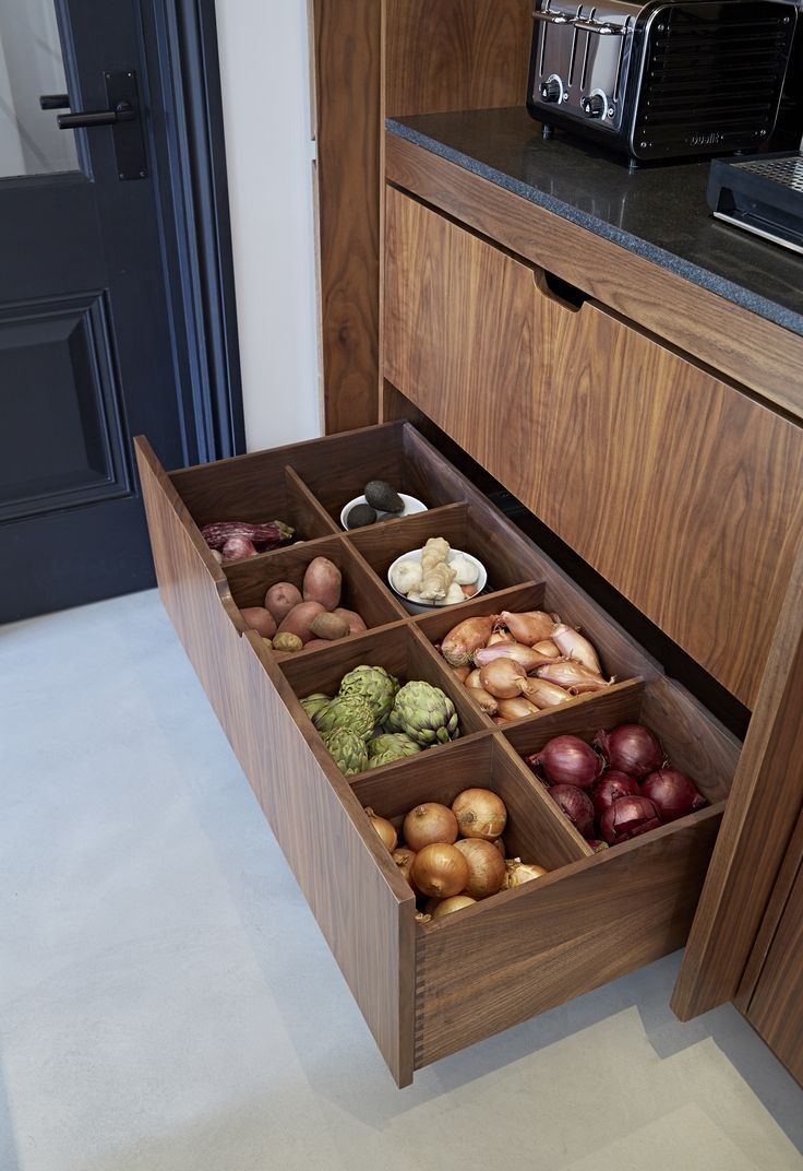 Customized kitchen storage, fantastically bespoke.