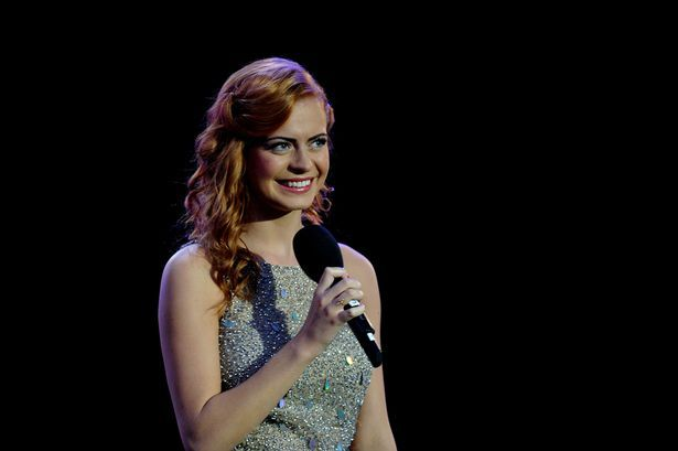 Sophie Evans performs at the Caerphilly Proms.
