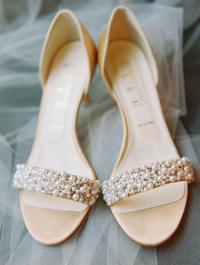 BHLDN bridal sandals
