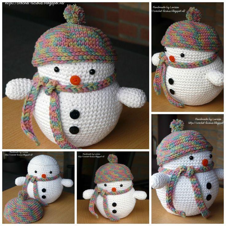 Crochet-licious: Sneeuwpopje van Luvlygurumi