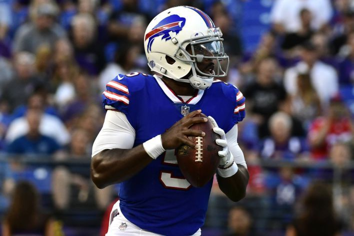 Tyrod Taylor cleared to start Week 1 for Bills