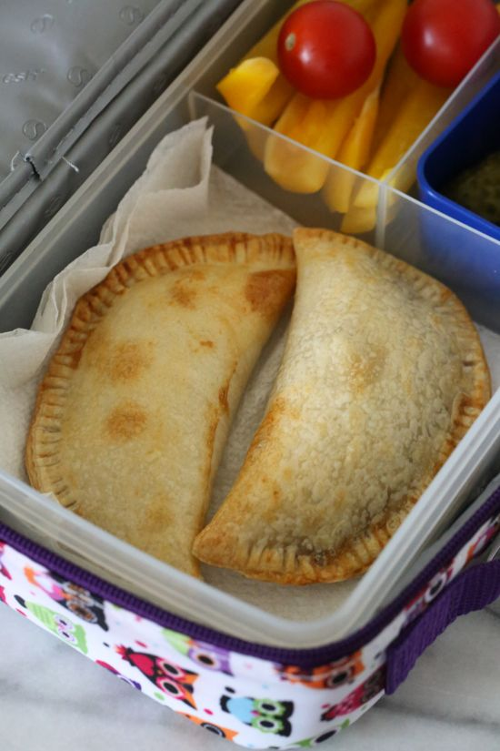 Air Fryer Empanadas are perfect to pack for school lunch!