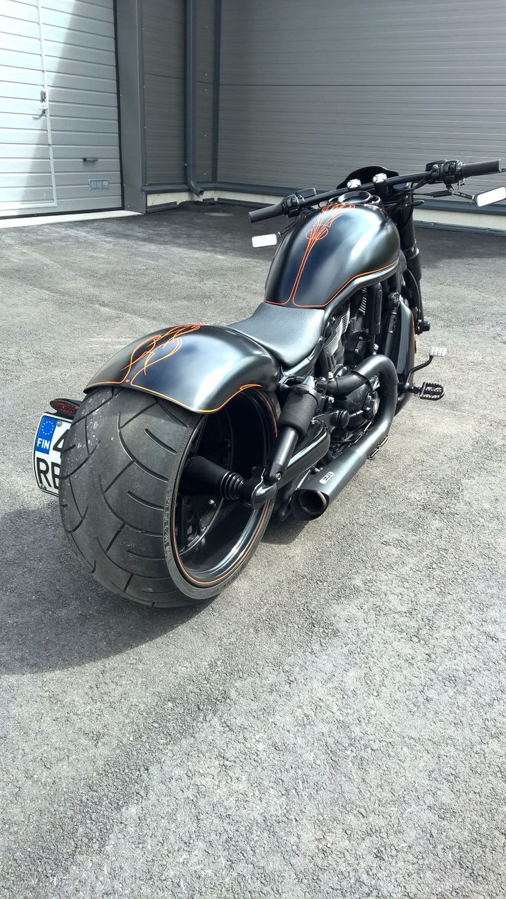 Harley Davidson V-Rod Night Rod Special:  Rick's, NLC, V&H, JokerMachine, LegendAir, J.W.SpeakerLed, Kellermann, PerformanceMachine, CultWerk, PowerCommander, Metzeler, MDNEngineering, Motobrand.  My personal bike.