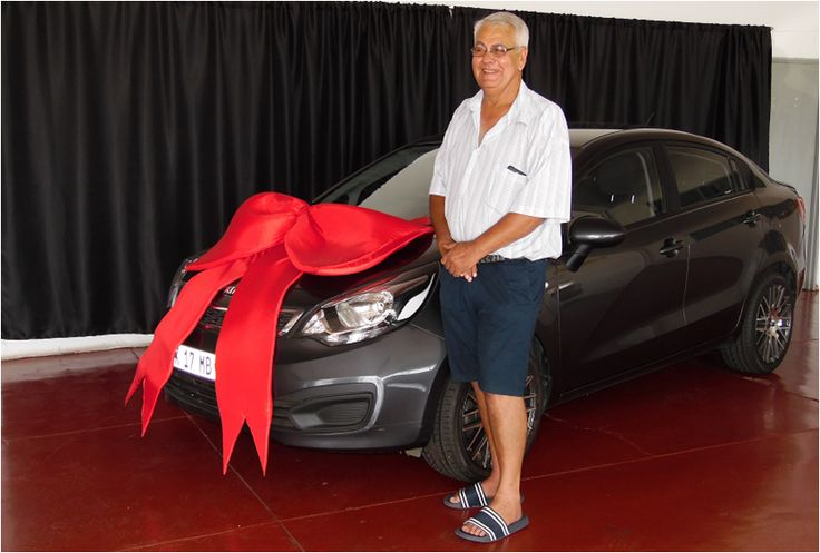 Mr Van Staaden taking ownership of his Kia Rio ! 🚗 #WeGetYouMoving #AnotherSuccessfulDelivery #SatisfiedClients #FinanceAvailable #ThroughAllMajorBanks #TheMotorManWay #TheMotormanEffect #motorman #cars #nigel #Kia #Rio #sedan #repeatclients #funclients For the best deals call us now at:  011 814 1729 Whatsapp us now at: 083 440 9121 Or Email us on: khatija786@ymail.com We only post pictures with permission of the client #permissiongranted