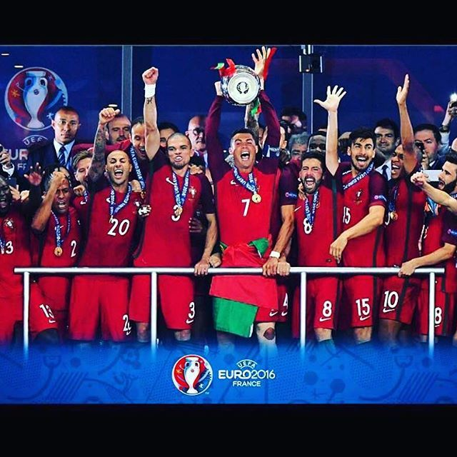 Congrats Portugal - congrats @christiano you were a amazing manager from the…