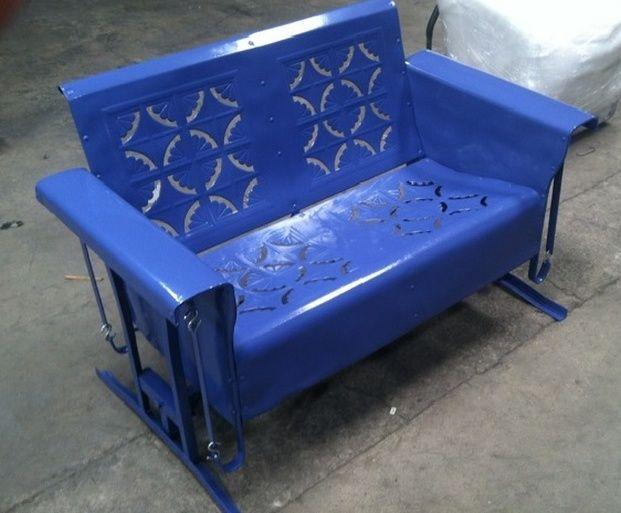 Old Metal Porch Gliders,Vintage Outdoor Patio cheap metal Porch Gliders,Vintage Metal Lawn Chair,Metal Lawn Chair,Retro Patio Furniture And More.
