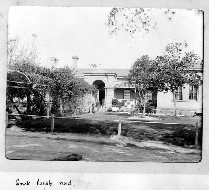 Female Hospital Ward - Ararat Lunatic Asylum/Aradale Mental Hospital. https://www.facebook.com/AradaleGhostTours