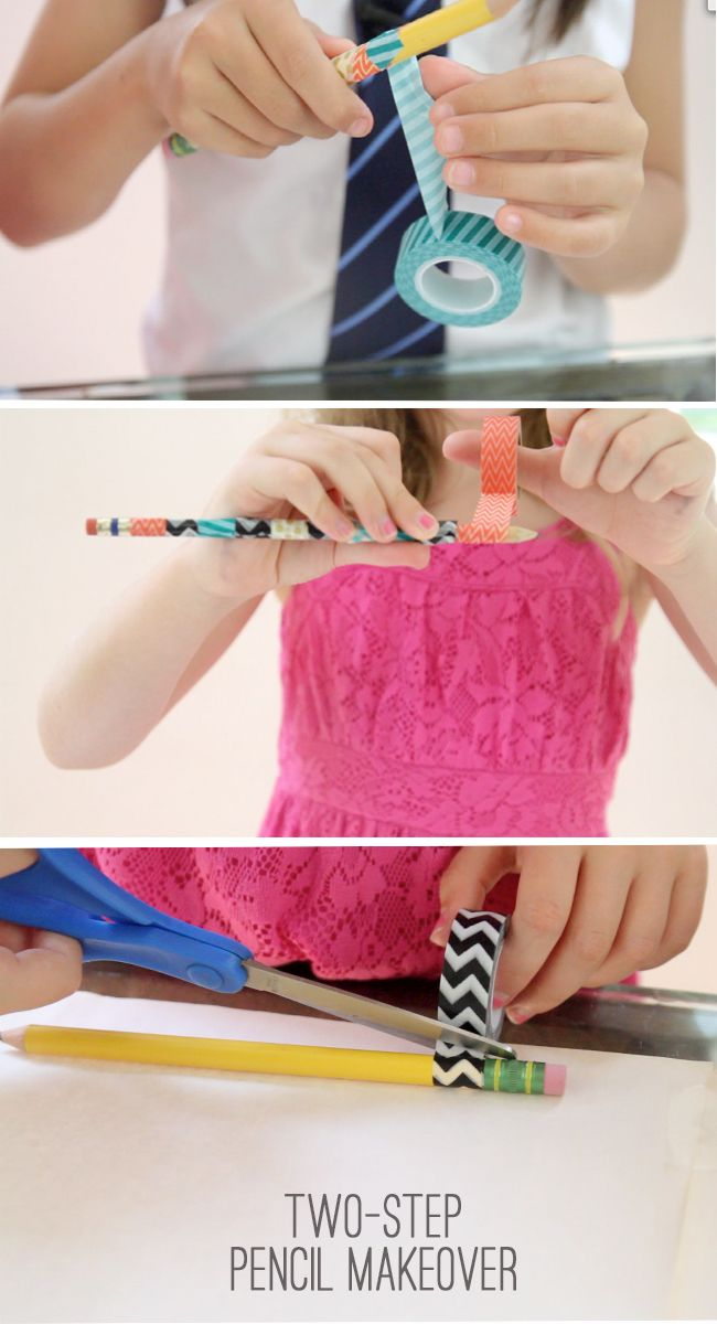 DIY DECORATING PENCIL HOW-TO (QUICK & EASY)   Wondermint Kids