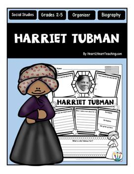 Harriet Tubman : Harriet Tubman Graphic Organizer : Is your class learning about one of the most famous and influential woman in American History? This custom-created Harriet Tubman organizer may be just what you're looking for!Harriet Tubman was an African-American abolitionist and humanitarian.