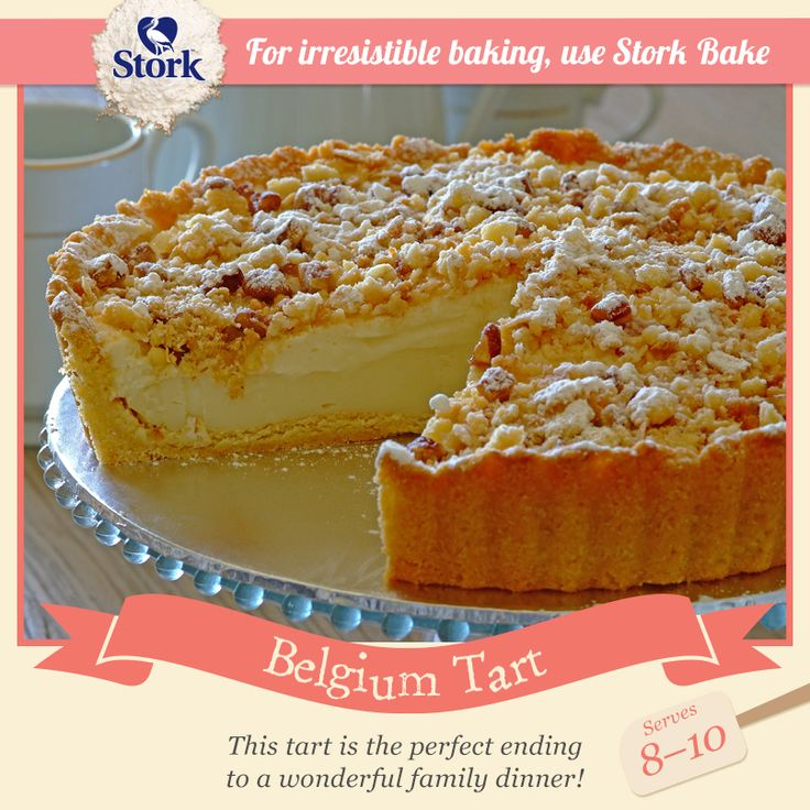 Have you ever tasted a Belgium Tart before?