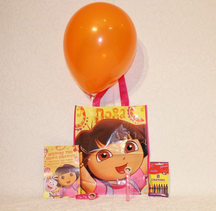 Dora Theme Loot Bag, perfect for the little girls and boys in your life!