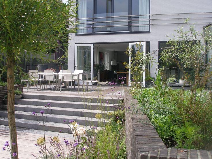 Moderne tuin.