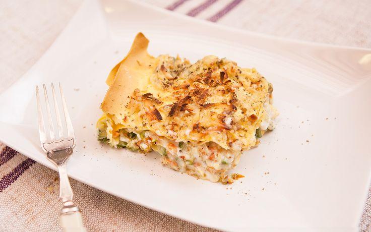 Lasagne vegetariane con zucchine