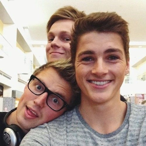 Finn Harries, Marcus Butler & Caspar Lee... @Abigail Krull  this is something i needed in my life...