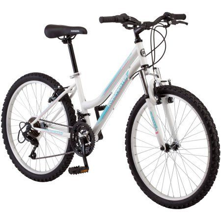 Roadmaster 24-Inches Granite Peak Girls' Mountain Bike Made with Lightweight Aluminum Wheels and 3-Piece Crank- White - http://mountain-bike-review.net/products-recommended-accessories/__trashed-23/ #mountainbike #mountain biking