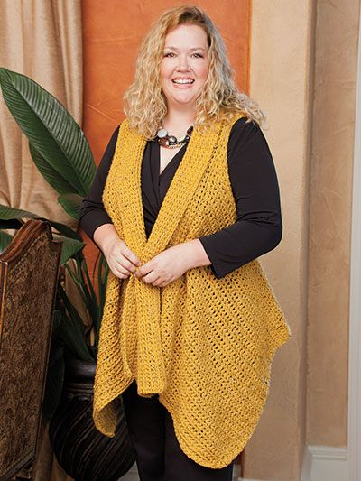 Figure-Flattering Plus Size Fashions to Crochet   Superior Home Arts