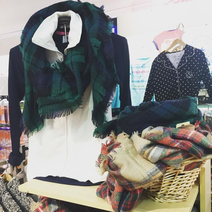 blanket scarves at Palmetto Moon