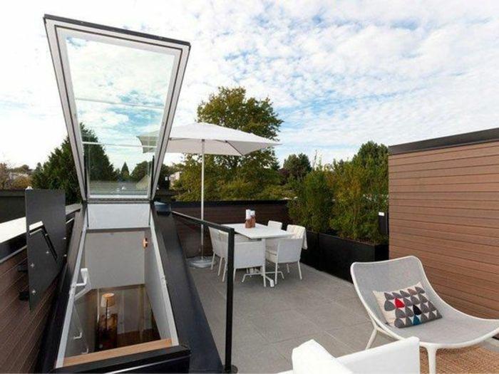 Bilder Terrassengestaltung terrassengestaltung bilder dachterrasse stühle tisch mit stuhl