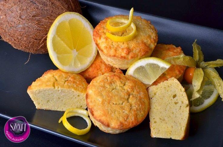 Végtelenül egyszerű paleo citromos muffin recept ~ Éhezésmentes Karcsúság Szafival